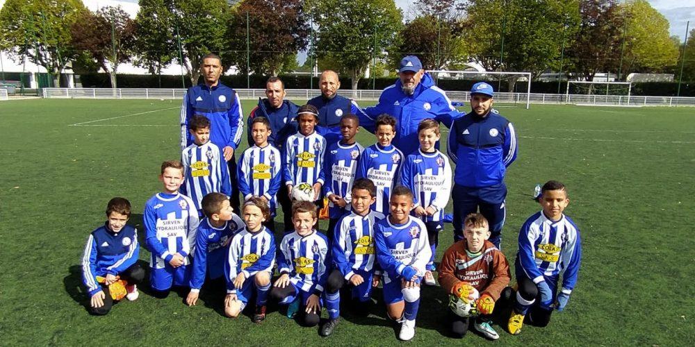U10 saison 2020-2021 football club pamiers