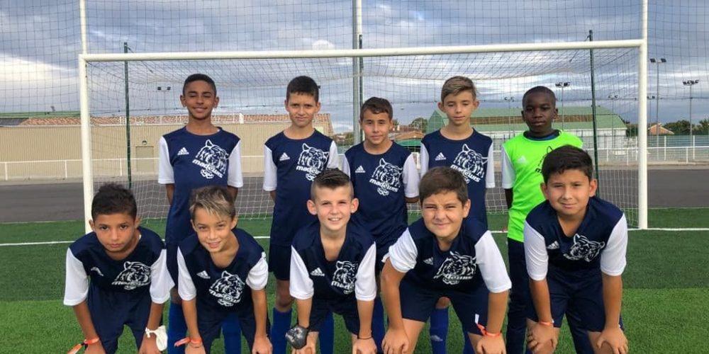 U12 saison 2020-2021 football club pamiers