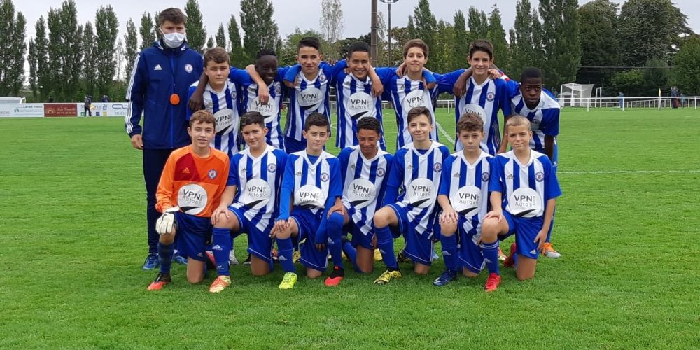 U14 - R saison 2020-2021 football club pamiers