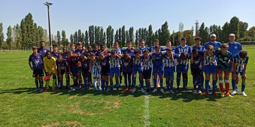 U15 - R saison 2020-2021 football club pamiers avec le TFC