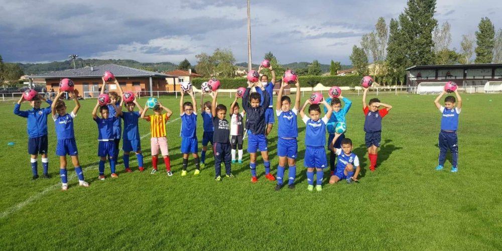 U9 saison 2020-2021 football club pamiers