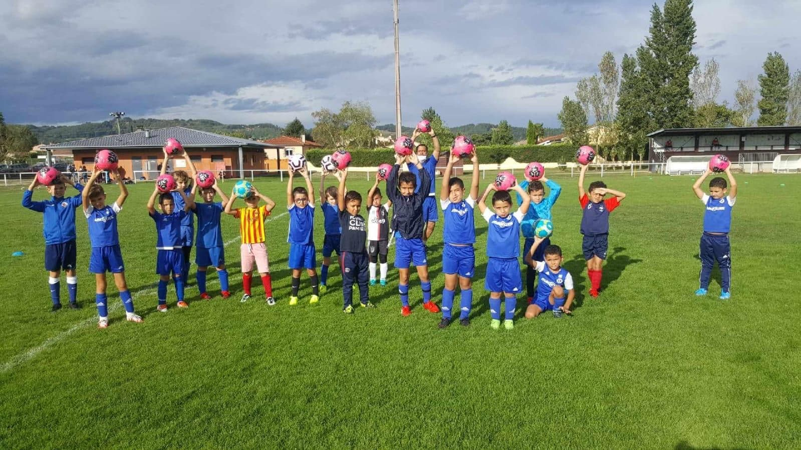 U9 saison 2020-2021 football club pamiers