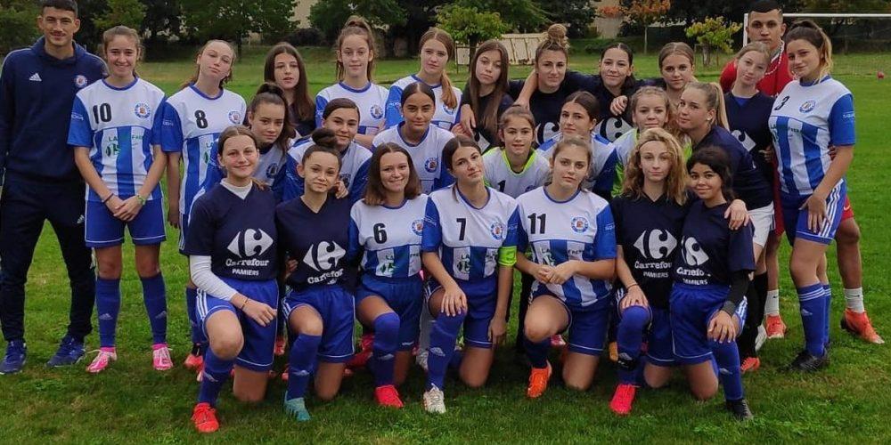 FEM U18 - EQUIPE 1 ET 2 saison 2020-2021