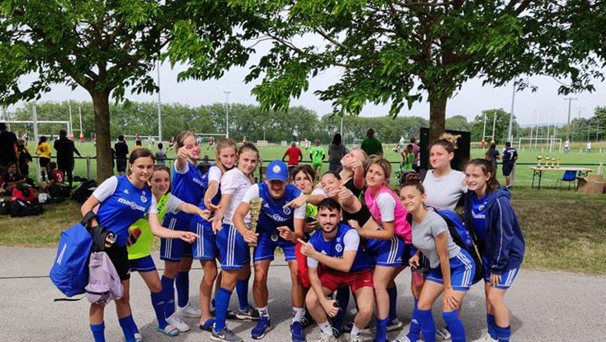 Féminine du foot club pamiers - victoire à Revel 2021