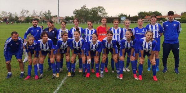 Les footballeuses du FC Pamiers