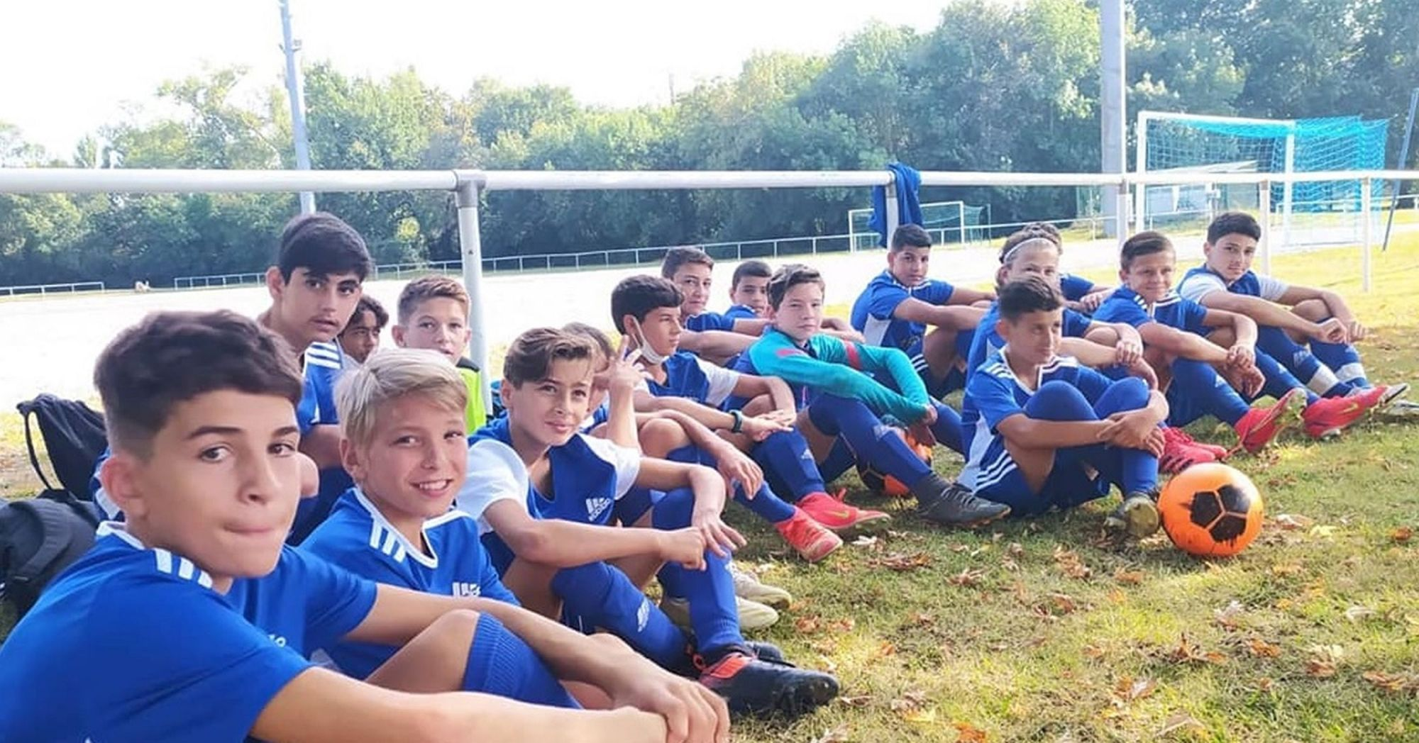 Les moins de 12 ans et moins de 13 ans du FC Pamiers
