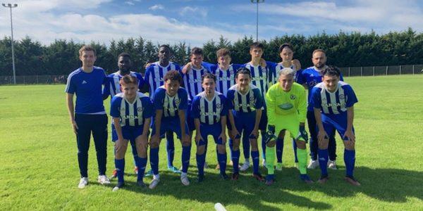 U18 2021 Les juniors poursuivent l'aventure en coupe de France de football